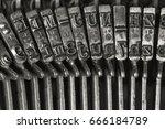 Vintage Typewriter Letters...