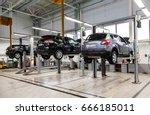 samara  russia   january 10 ... | Shutterstock . vector #666185011