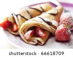 close up of two french style... | Shutterstock . vector #66618709