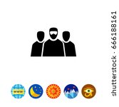 terrorism concept icon   Shutterstock .eps vector #666188161