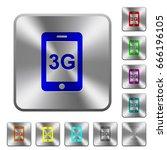 third gereration mobile network ... | Shutterstock .eps vector #666196105
