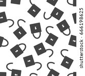 lock seamless pattern...