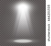 light beam isolated on... | Shutterstock .eps vector #666201535