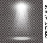 light beam isolated on... | Shutterstock .eps vector #666201535