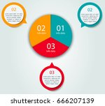 steps to succes. circle coloful ...   Shutterstock .eps vector #666207139