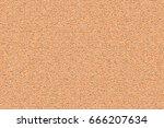 cork board wood surface.... | Shutterstock .eps vector #666207634