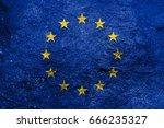 flag of europe   Shutterstock . vector #666235327