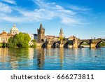 View Of  Charles Bridge And...