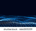 3d rendering abstract... | Shutterstock . vector #666305359