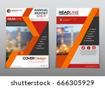cover design annual report... | Shutterstock .eps vector #666305929