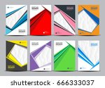 brochure template layout  cover ... | Shutterstock .eps vector #666333037