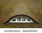 traditional german roof window | Shutterstock . vector #666344431