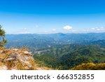 standing empty on top of a...   Shutterstock . vector #666352855