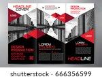 business brochure. flyer design.... | Shutterstock .eps vector #666356599