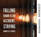 inspirational and motivation... | Shutterstock . vector #666362215