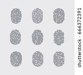 raster version. types of... | Shutterstock . vector #666372391
