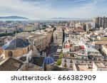 panoramic view of murcia from... | Shutterstock . vector #666382909