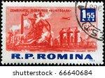 romania   circa 1963  a stamp... | Shutterstock . vector #66640684
