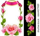 Vector Set Of Floral Decoratio...