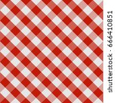 picnic tablecloth seamless... | Shutterstock .eps vector #666410851