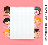 back to school and education...   Shutterstock .eps vector #666412435