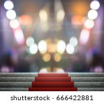 stage lighting background 3d... | Shutterstock . vector #666422881