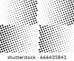 abstract halftone dotted... | Shutterstock .eps vector #666435841
