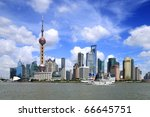 china shanghai | Shutterstock . vector #66645751