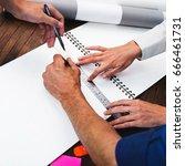 business people in meeting room | Shutterstock . vector #666461731