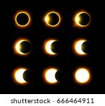 Different Phases Of Solar And...