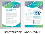 template vector design for... | Shutterstock .eps vector #666469321