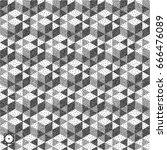 honeycomb background. 3d mosaic.... | Shutterstock .eps vector #666476089