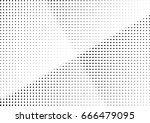 abstract halftone dotted... | Shutterstock .eps vector #666479095