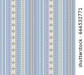 seamless vertical striped... | Shutterstock .eps vector #666532771
