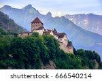 vaduz castle  the official... | Shutterstock . vector #666540214