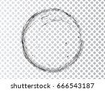 vector frames. circle for image.... | Shutterstock .eps vector #666543187