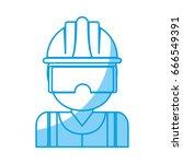 industrial security design | Shutterstock .eps vector #666549391