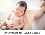 concept of love and family... | Shutterstock . vector #666561091