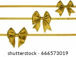 horizontal three ribbon with... | Shutterstock . vector #666573019