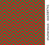 red and green chevron pattern...   Shutterstock .eps vector #666589741