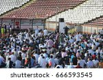 bucharest  romania   june 25 ... | Shutterstock . vector #666593545