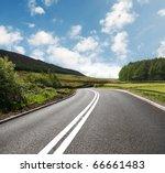 asphalt road | Shutterstock . vector #66661483
