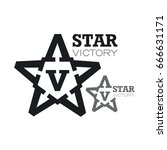 Star Of Victory Composed Of The ...