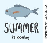 summer backgrounds collection.... | Shutterstock .eps vector #666632065