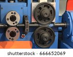 wire feed to the machine... | Shutterstock . vector #666652069