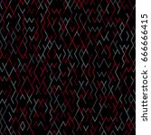 geometric random lines pattern. ...   Shutterstock .eps vector #666666415