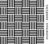 seamless pattern with black...   Shutterstock .eps vector #666681361