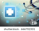 healthcare and medicine. | Shutterstock . vector #666702331