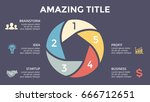vector circle arrows... | Shutterstock .eps vector #666712651