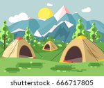 stock vector illustration... | Shutterstock .eps vector #666717805